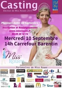 Casting Miss Rouen 2015