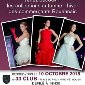Défilé de mode - Miss Rouen