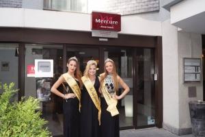 Nuit à l'hôtel Mercure avec les Miss Saint Ghislain
