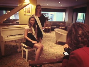 Premier interview de Miss Rouen au Mercure Cathédrale