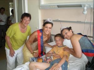 Visite aux enfants malade du CHU de Rouen