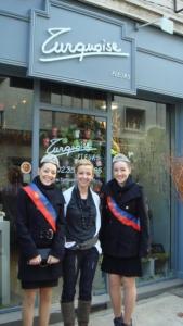 Visite des commerçants de la ville de Rouen et de nos partenaires