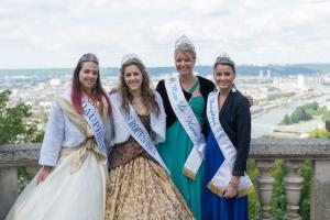 Miss Rouen aux Fêtes Jeanne d'Arc 2015