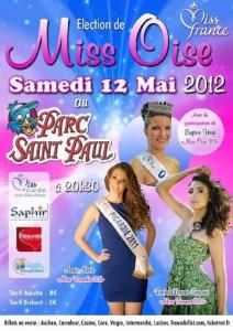 Election Miss Oise au Parc St Paul