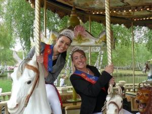 Visite du Parc St Paul avec Miss Beauvais