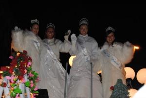 Miss Rouen à Parade blanche 2014