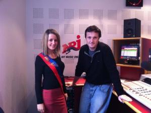 Interview avec Vincent Girot sur NRJ Rouen