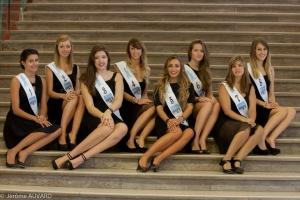 Casting Miss Rouen 2014 aux Galeries Lafayette