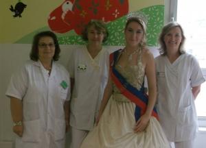 Miss Rouen au CHU de Rouen