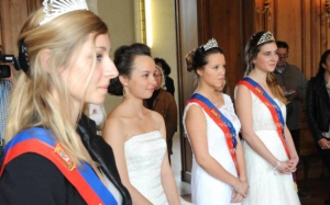 Couronnement des reines de la foire Saint Romain