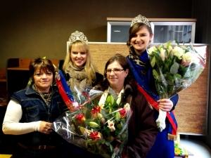Inauguration Foire des Rameaux par les Miss Rouen