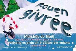 Inauguration des festivités de Rouen Givrée